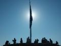 Athens acropolis flag
