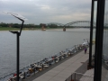 View from living room - Rhine River