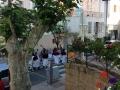 Catholic procession in Calvi