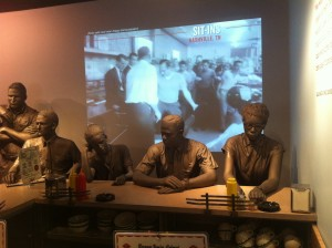 Sit-In's at the Civil Rights Museum