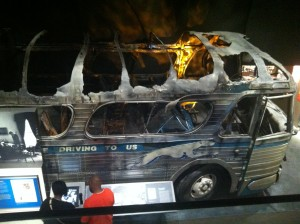 The Freedom Riders journey ends in flames and death in Alabama.