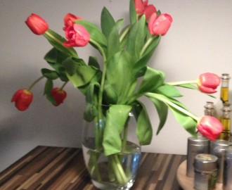 Tulips from the market