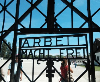 Dachau gate - Work Makes Freedom